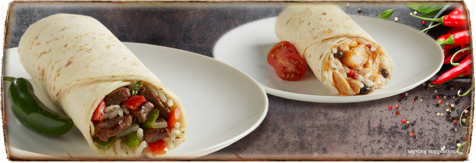 Authentic Frozen Mexican Burritos and Chimichangas by DON MIGUEL®